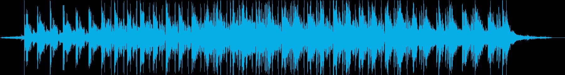 CHILLでlo-fiなHIPHOPの再生済みの波形