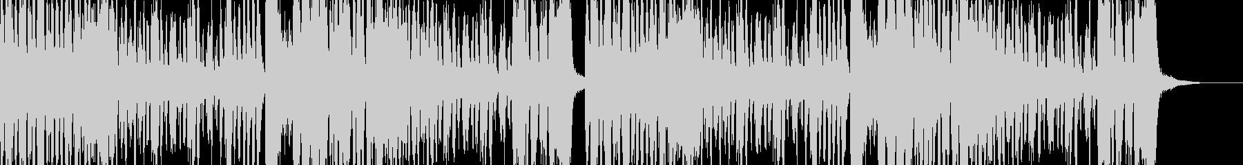 コミカルなドタバタコメディー的なBGMの未再生の波形