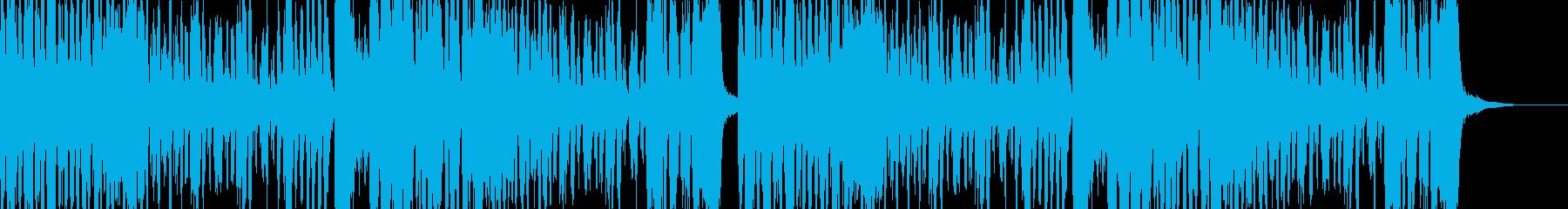コミカルなドタバタコメディー的なBGMの再生済みの波形