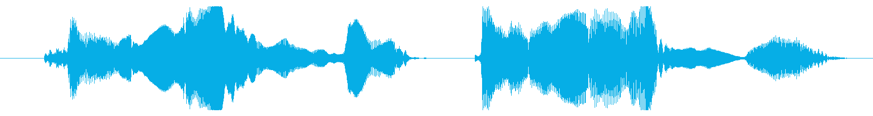 動画用面白声素材_ぺろりの再生済みの波形