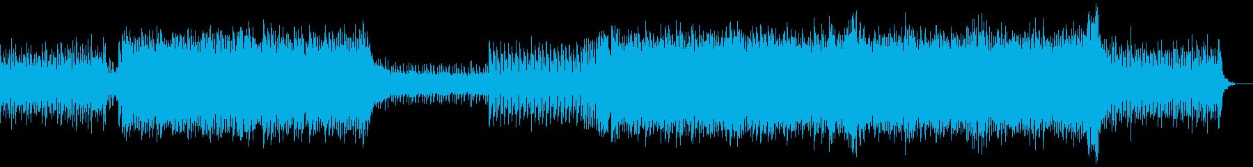 桜とロボを融合したような曲です。の再生済みの波形
