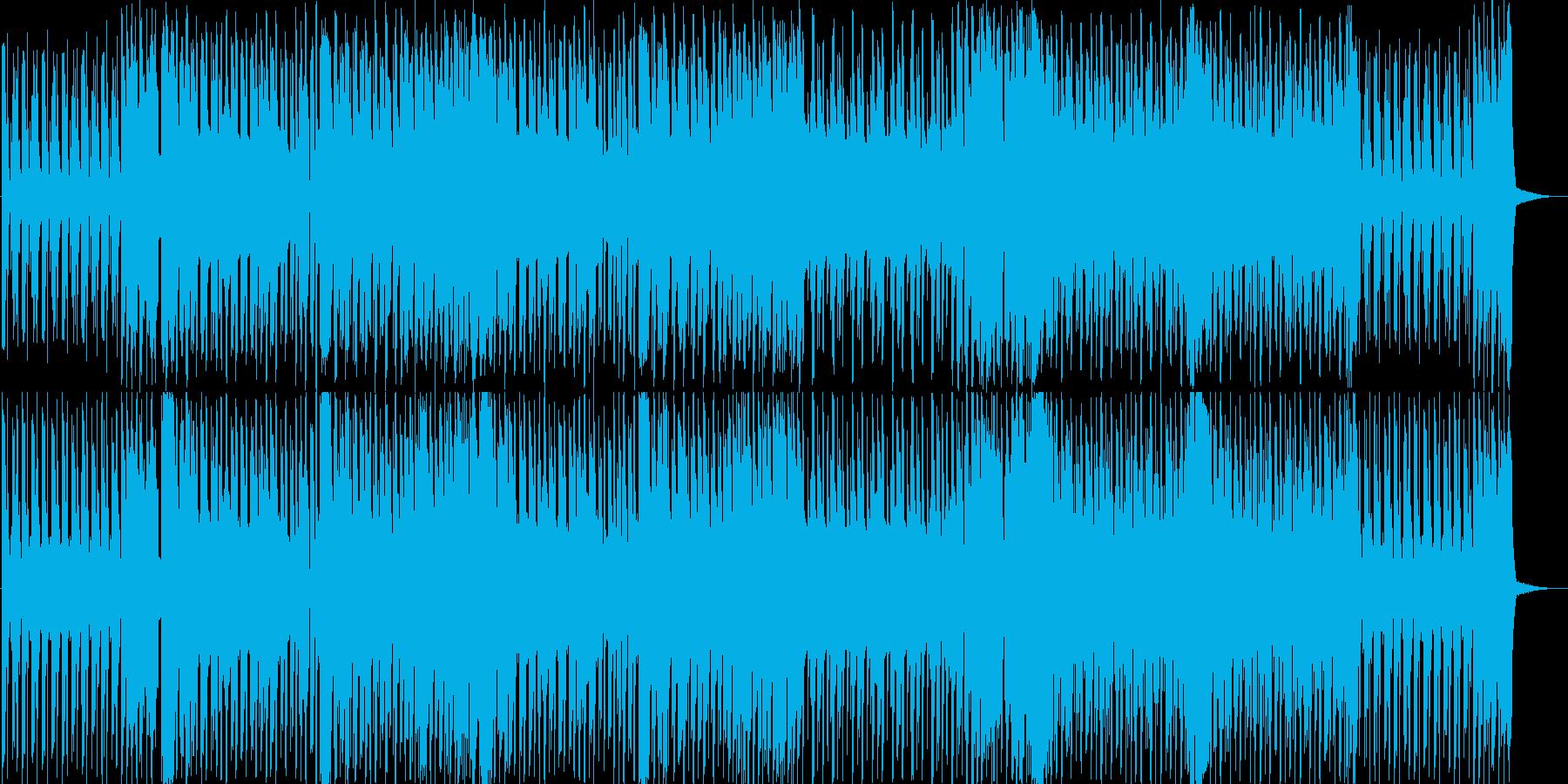 ちょっと懐かしい!?ポップなサウンドの再生済みの波形