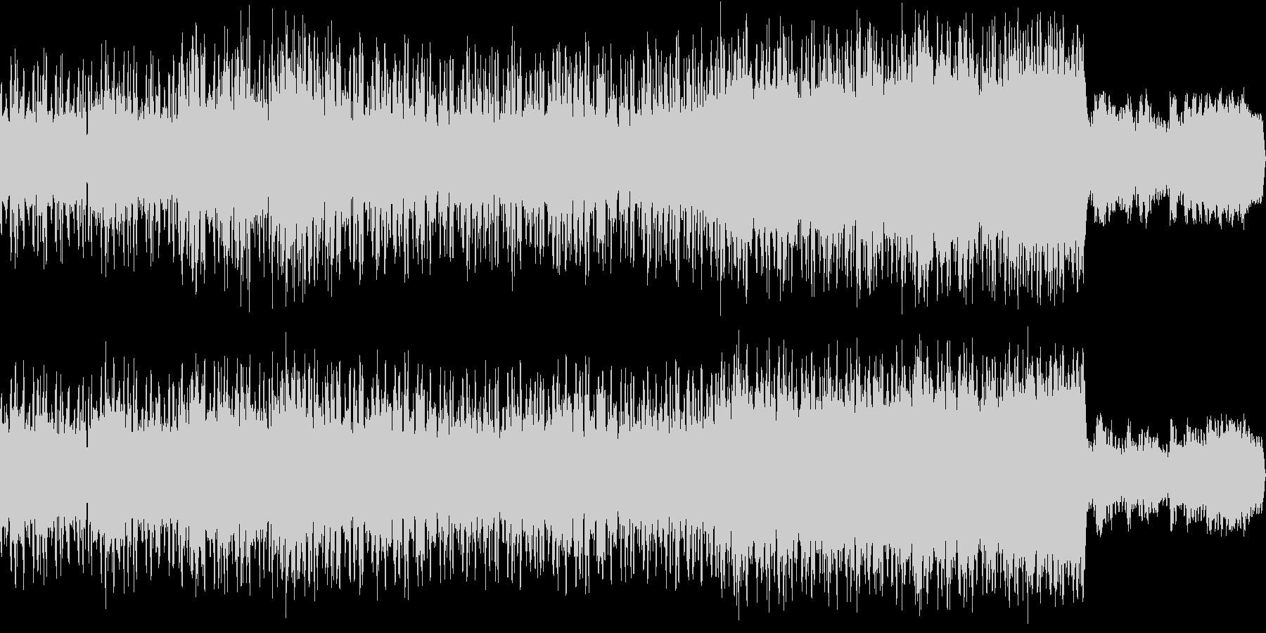 「和風」「秋」のイメージで作成した音楽…の未再生の波形