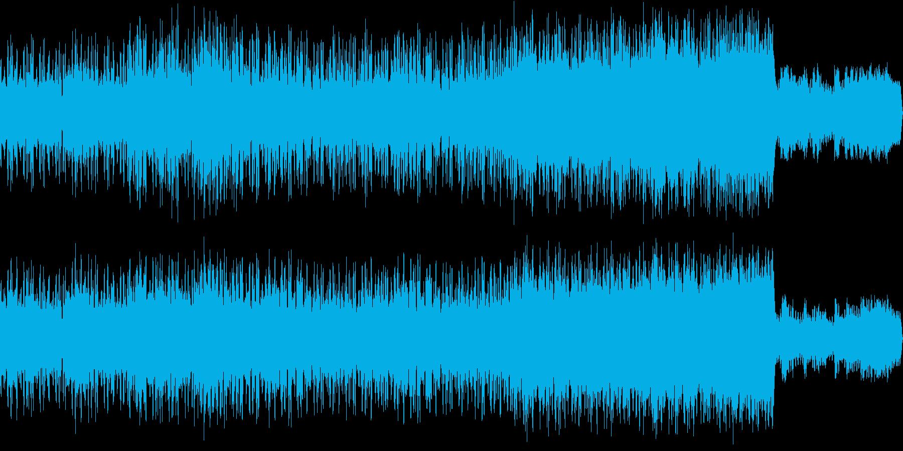 「和風」「秋」のイメージで作成した音楽…の再生済みの波形