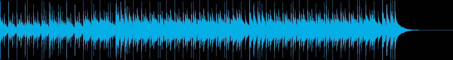 Pf「問題」和風現代ジャズの再生済みの波形