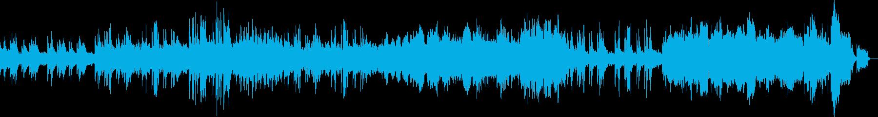 深い叙情を湛えた美しいスローワルツの再生済みの波形