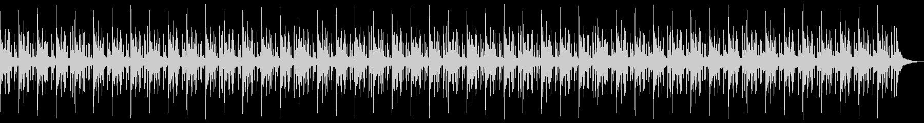 切ないエンディングローファイヒップホップの未再生の波形