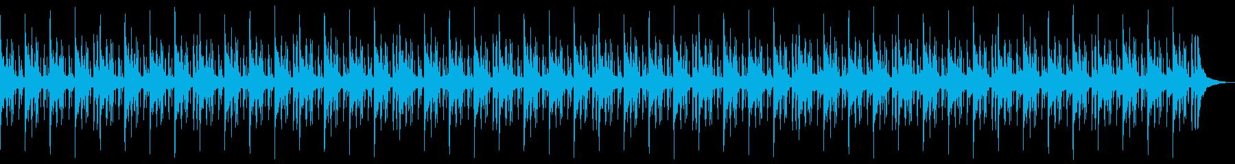 切ないエンディングローファイヒップホップの再生済みの波形