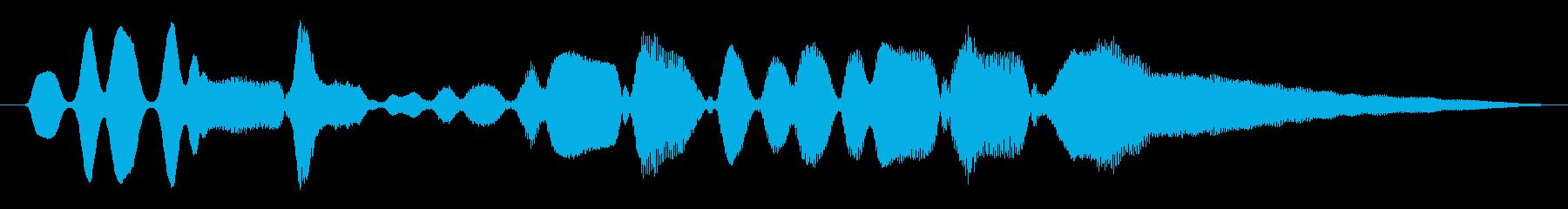 ハーモニカ:ショートプレイ、コメデ...の再生済みの波形