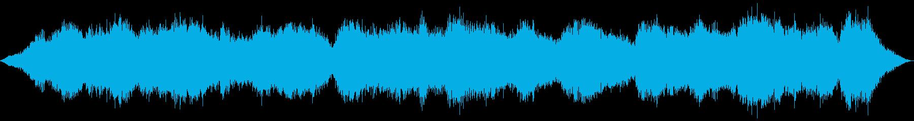 リズムベースのサウンドエフェクトと...の再生済みの波形