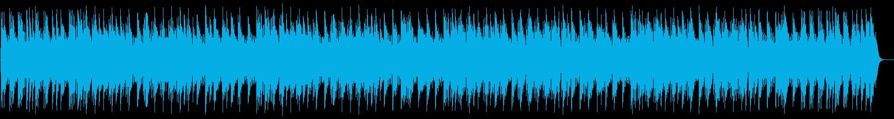 綺麗な音色で癒されるオルゴールの再生済みの波形