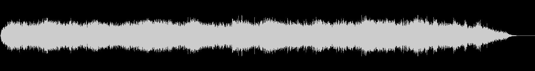 プラネタリウムや水族館で流れる神秘音楽の未再生の波形