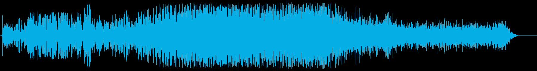 金属摩擦攻撃の再生済みの波形