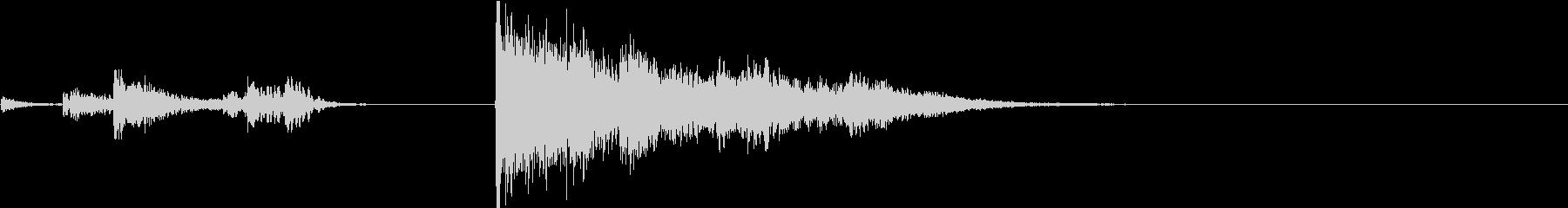 Game 金属製の仕掛け・罠の音 鎖式の未再生の波形
