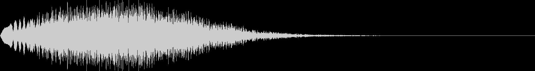 キラキラ04(上昇)の未再生の波形