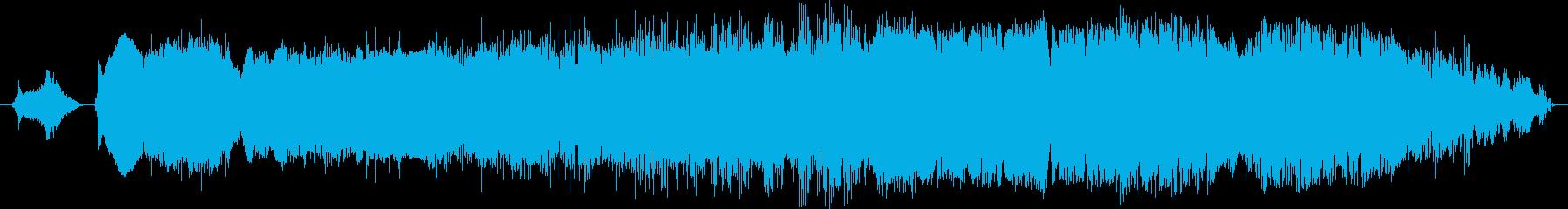 鳴き声 男性の息を吐き出すスクリー...の再生済みの波形