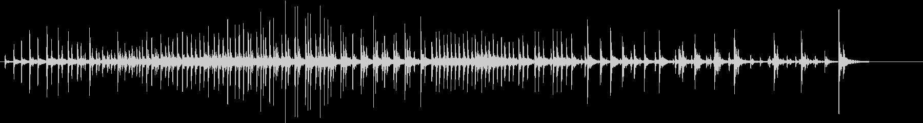 【生録音】パッケージ 開封音 13の未再生の波形