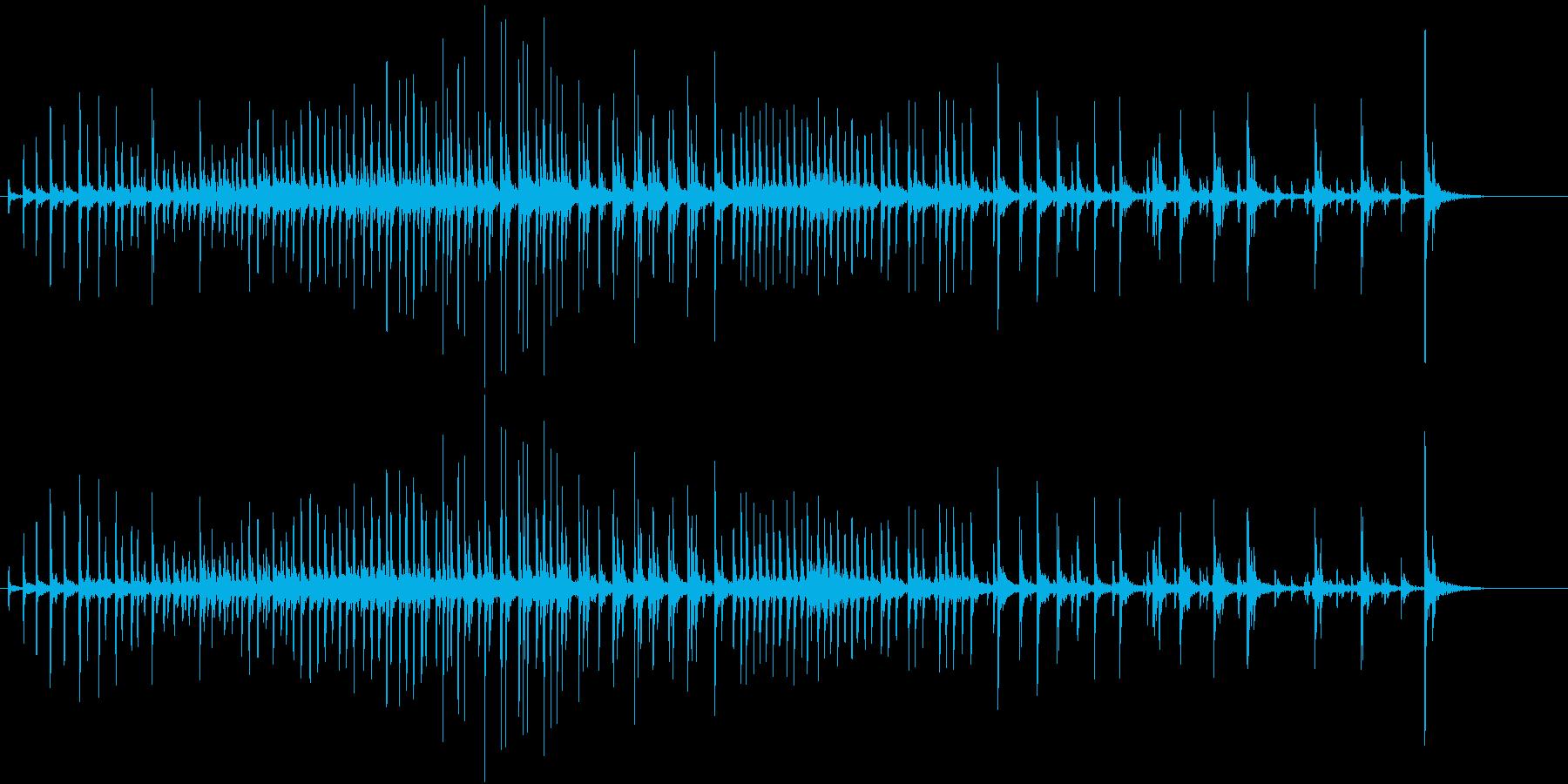 【生録音】パッケージ 開封音 13の再生済みの波形