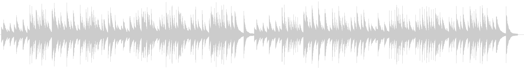 サティ ジムノペディ【高品質ピアノ音源】の未再生の波形