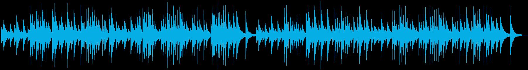 サティ ジムノペディ【高品質ピアノ音源】の再生済みの波形
