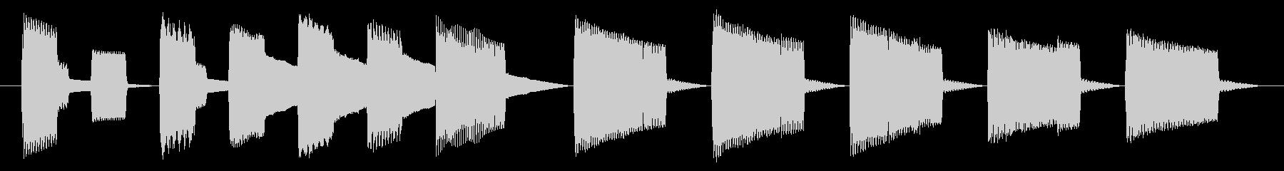 NES 汎用 C06-4(ゲームオーバーの未再生の波形