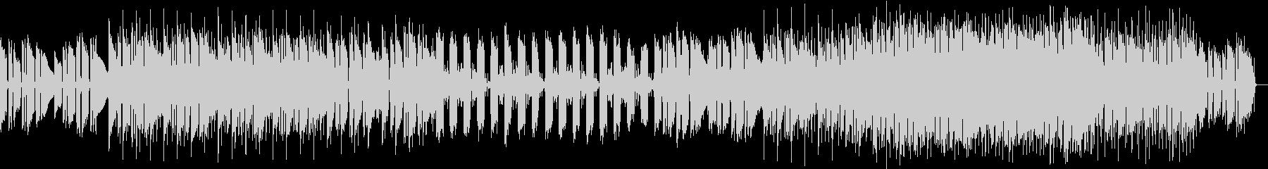 キラキラ系のBGMの未再生の波形