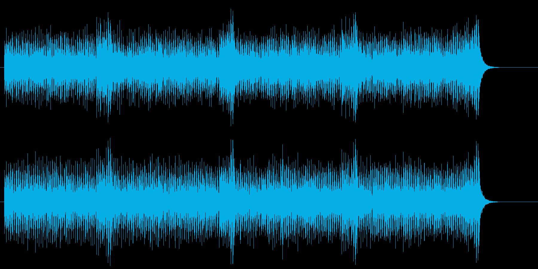 報道フラッシュ向きサイエンス風サウンドの再生済みの波形