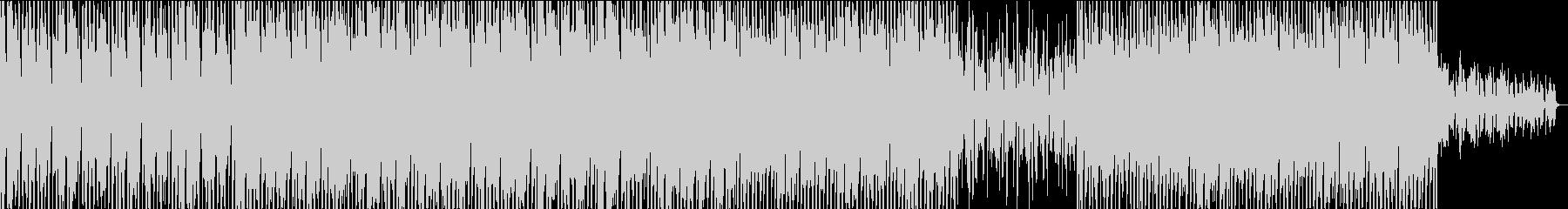 ポップなテックハウスの未再生の波形