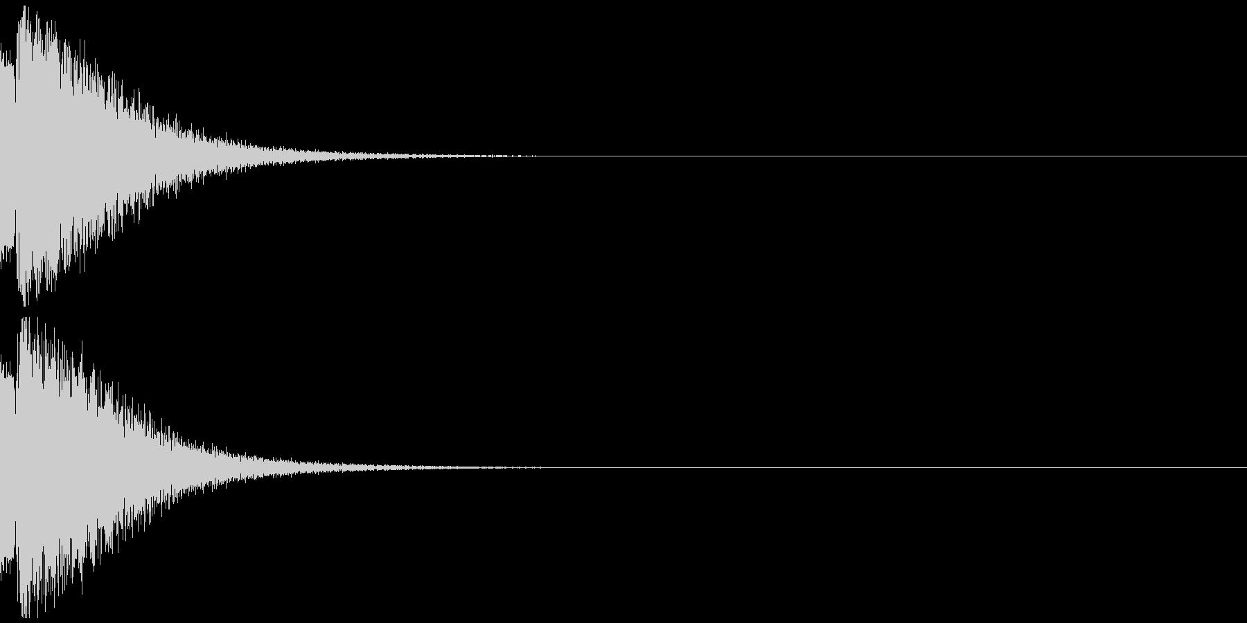 ピュルルルー ゲームオーバー 不正解の未再生の波形