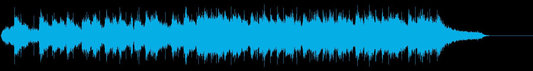 メロディアスでつつましいバラードの再生済みの波形