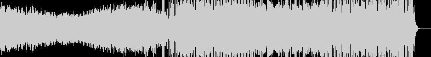 クールなエレクトロチューンの未再生の波形