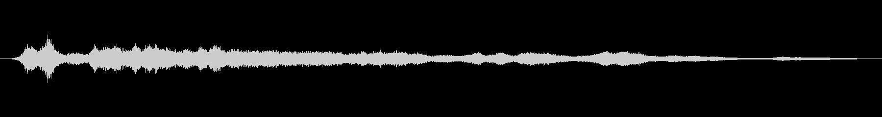 メタル 鳴くブライトロング02の未再生の波形