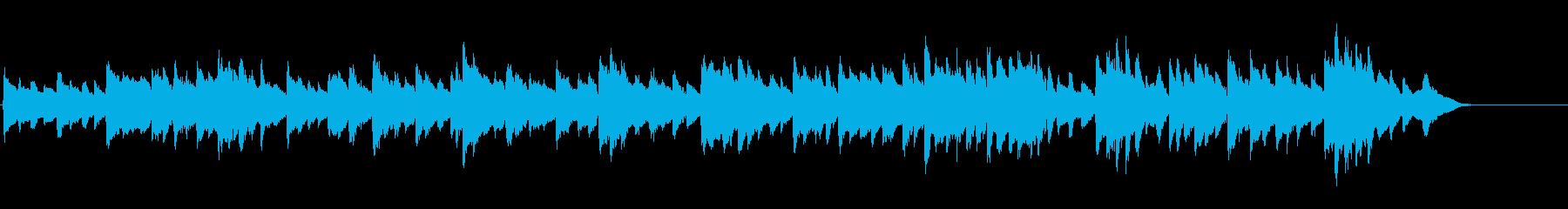 「悲壮」第2楽章 前半部分(ホール)の再生済みの波形