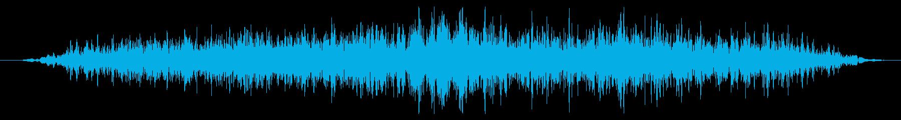 ワーム モンスター ゲーム スキルの再生済みの波形
