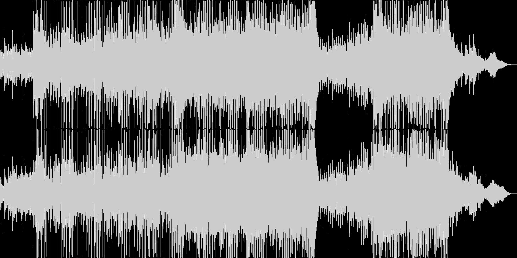 バラード調のポップス、アニソンの未再生の波形