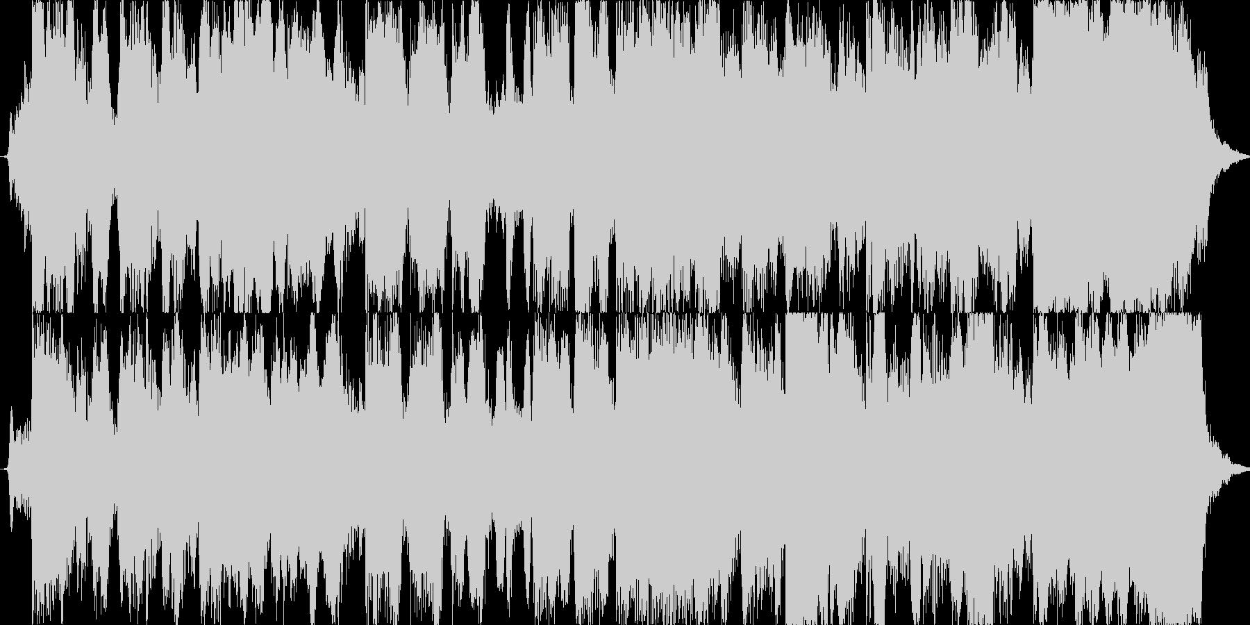 爽やかなジャズ風フルート/CM/ジングルの未再生の波形