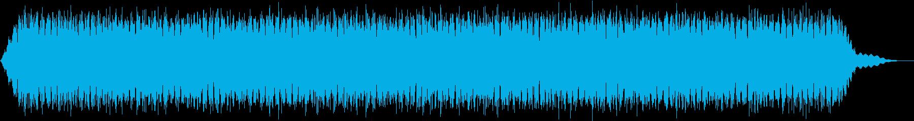 【アンビエント】ドローン_46 実験音の再生済みの波形
