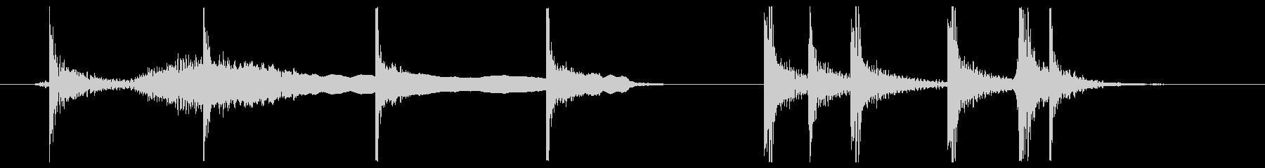 カブキ10秒ジングルシリーズ②ですの未再生の波形