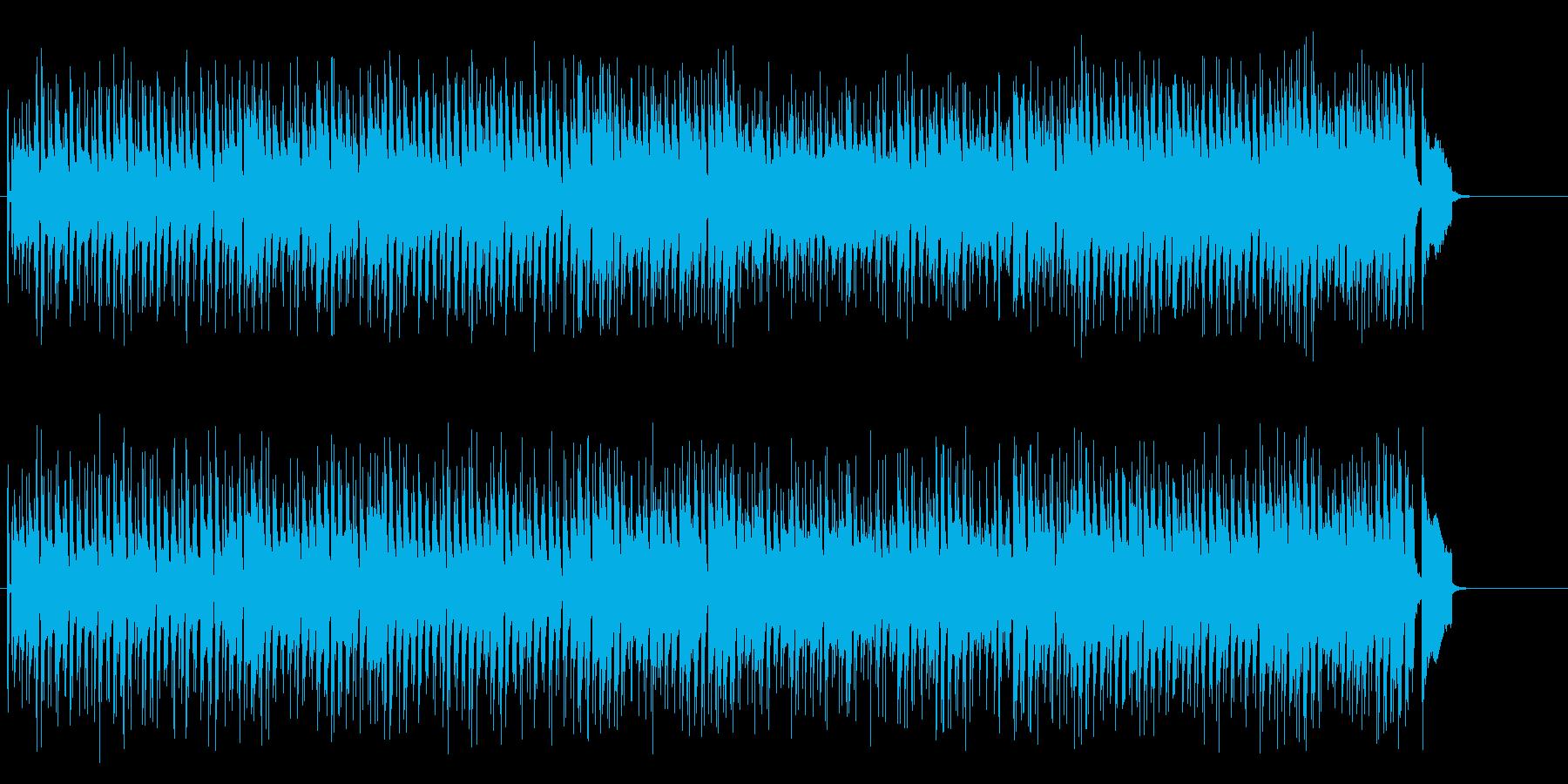コミカル・アレンジのブルースの再生済みの波形