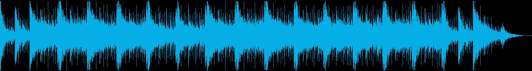 和風 のんびりしたBGMの再生済みの波形