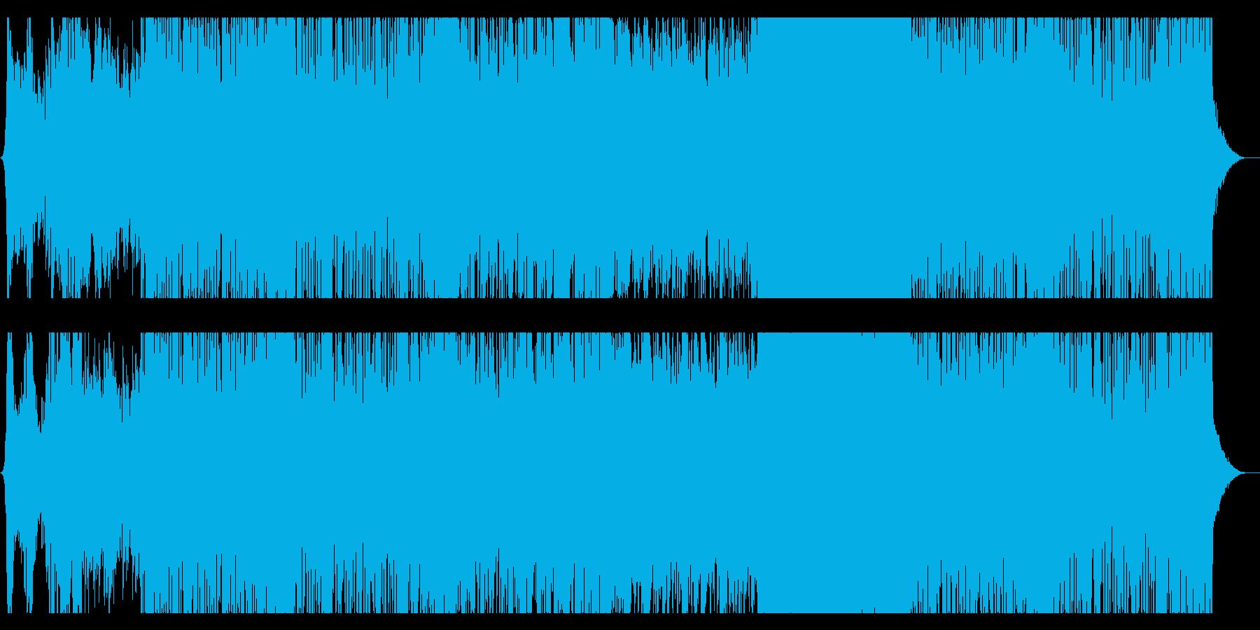 夏祭りに似合うswingEDMの再生済みの波形