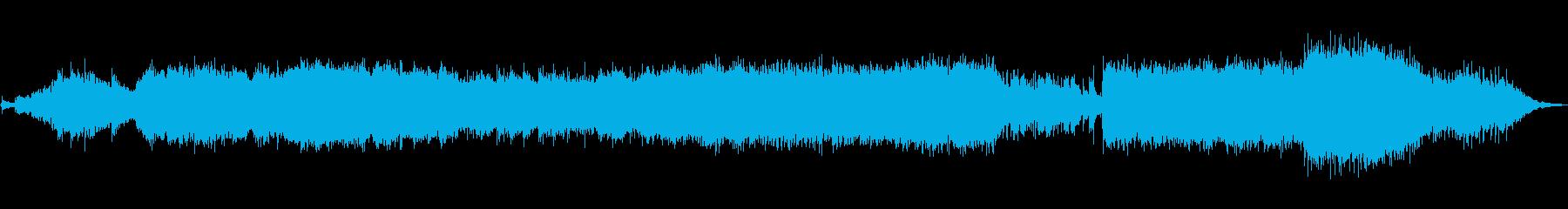 冒険的な中東の音楽。ドキュメンタリ...の再生済みの波形
