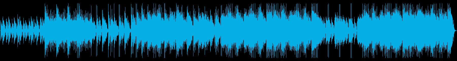 午後のティータイムに似合うポップスの再生済みの波形