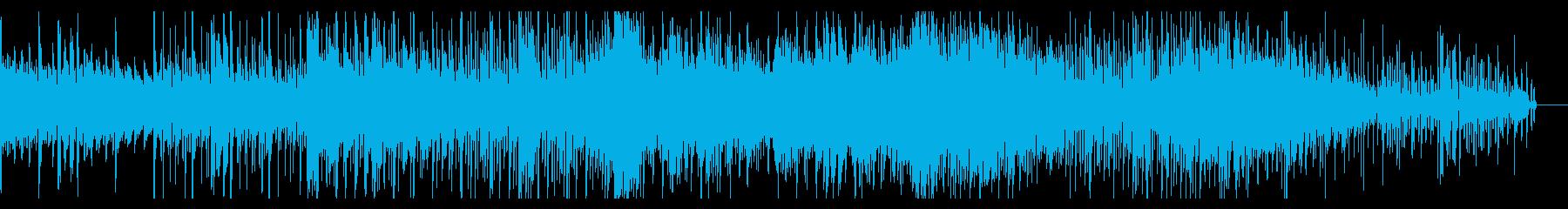 デジタルでホラーなシネマティックBGMの再生済みの波形