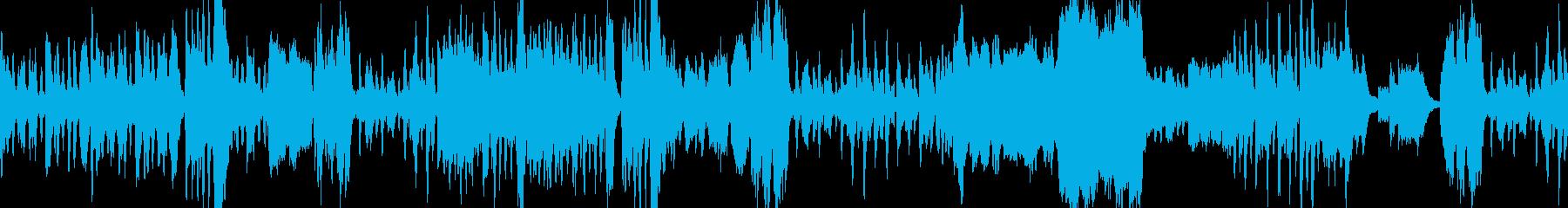 明るく優雅な室内楽曲の再生済みの波形