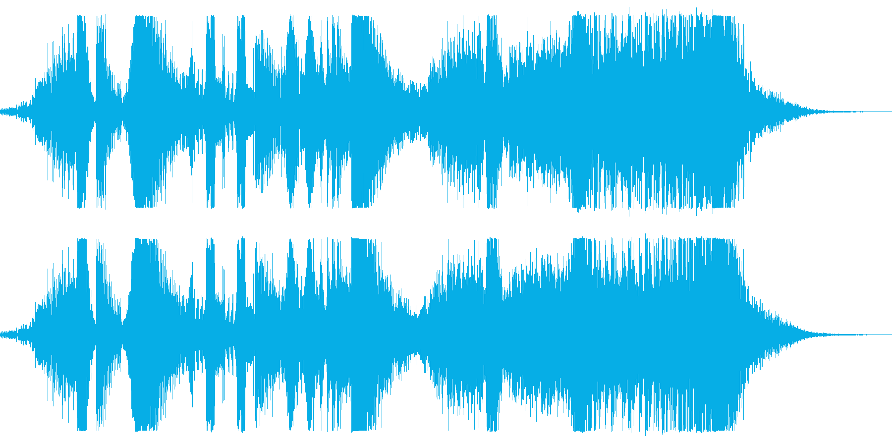 メタリックスウィッシュ、ヘビーヒッ...の再生済みの波形