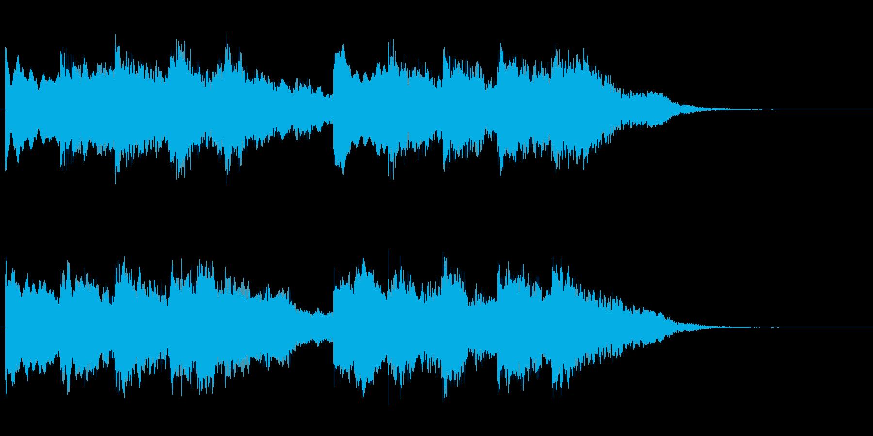 チャイム 4の再生済みの波形