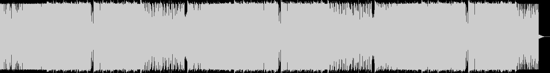 バトル系ゴリゴリDubstepメタルの未再生の波形