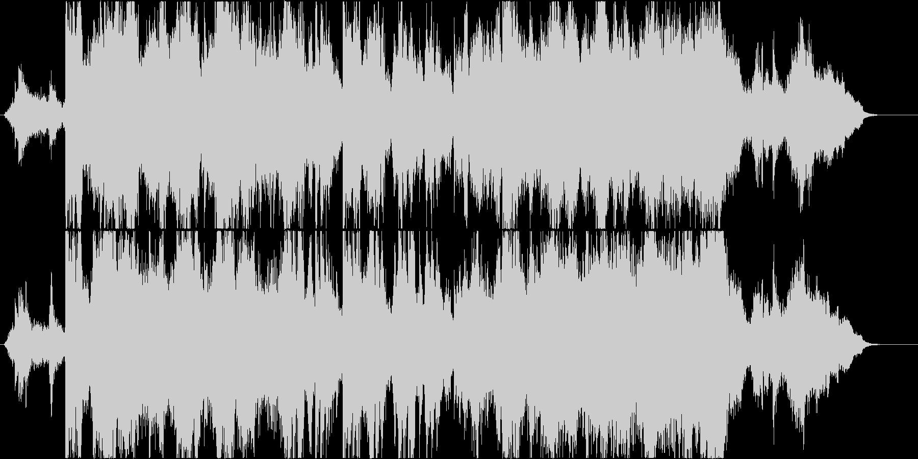 二胡が優美に奏でる壮大なオリエンタル音楽の未再生の波形