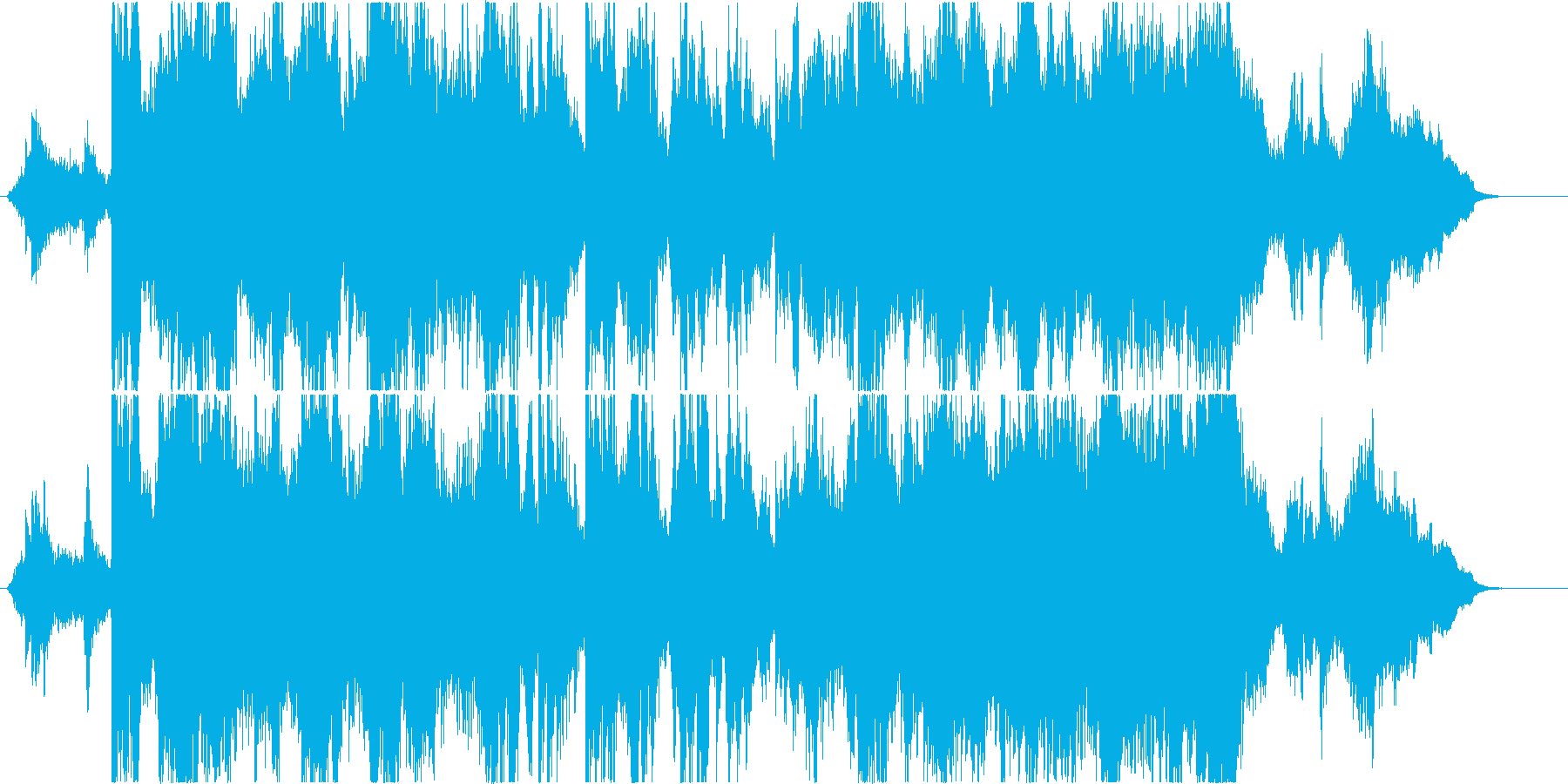 二胡が優美に奏でる壮大なオリエンタル音楽の再生済みの波形